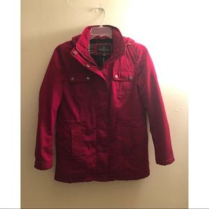London Fog / Red Winter Puffer Jacket Size S